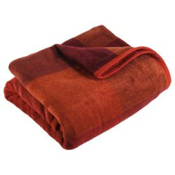 Biederlack (Didas) Throw Thermosoft Square 180X220Cm, Red