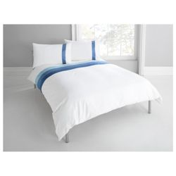 Tesco Nanza King Size Duvet Set, Moonlight