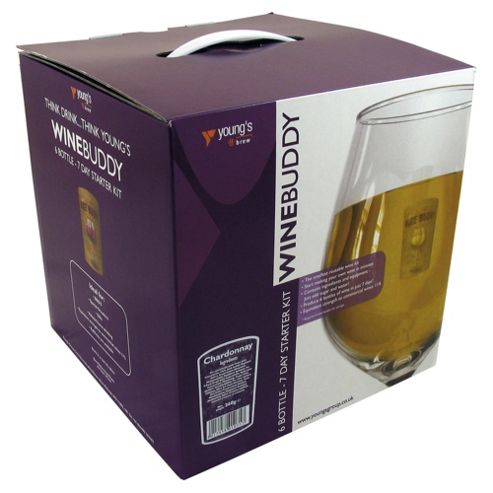 WineBuddy Starter Kit, Chardonnay, 6 bottles