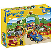 Playmobil 123 Large Zoo 6754