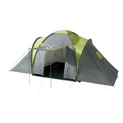 Tesco 6-Man, 3-Bedroom Family Tent