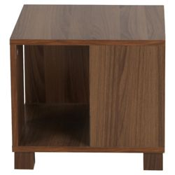 Nico Side Table, Walnut-effect