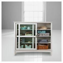Stockholm Display Cabinet, White