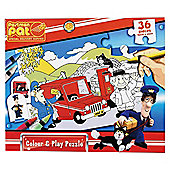 Postman Pat Colour & Play Puzzle