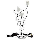 Tesco Lighting Whirly Table Lamp