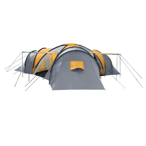 Tesco 9-Person 3-Bedroom Family Tent