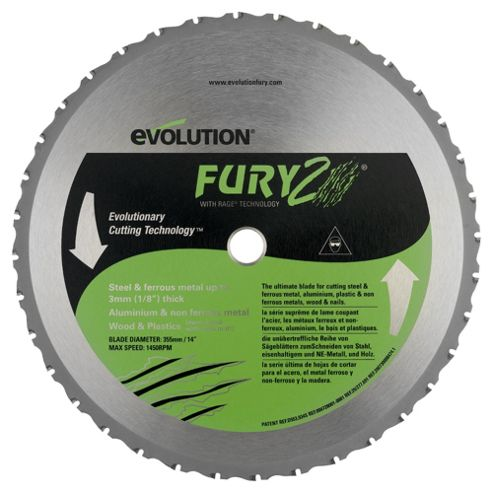 Evolution Fury 2 Replacement Blade