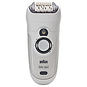 Braun Silk-épil 7 Epilator 7381 Wet & Dry Body System Rechargeable Epilator