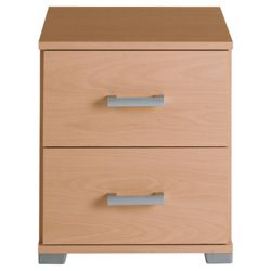 Fresno Bedside Chest, Beech-Effect