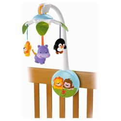 Fisher-Price Precious Planet 2 In1 Wind Up Mobile