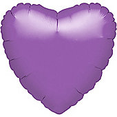 Spring Lilac Heart Balloon - 18' Foil (each)