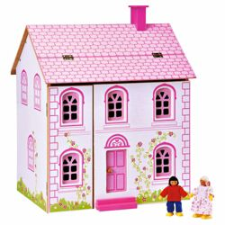 Little Steps Wooden Doll'S House