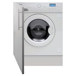 Caple WDi2202 Integrated Washer Dryer, 6kg Wash Load, 1200 RPM Spin, B Energy Rating. White