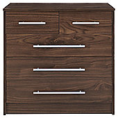 Kendal 5 Drawer Chest, Walnut Effect
