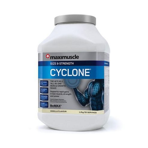 Maximuscle Cyclone 1.2kg Vanilla
