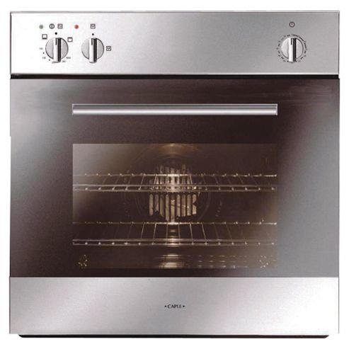 Caple C2511SS Gas Single Oven, continental oven, burning