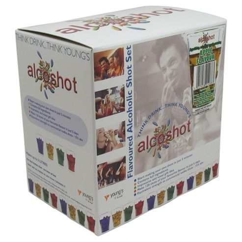 Alcoshot Refill Kit, Apple