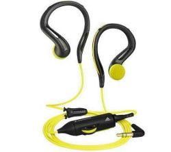 Sennheiser Adidas Omx 680 Earphones - Black and Yellow