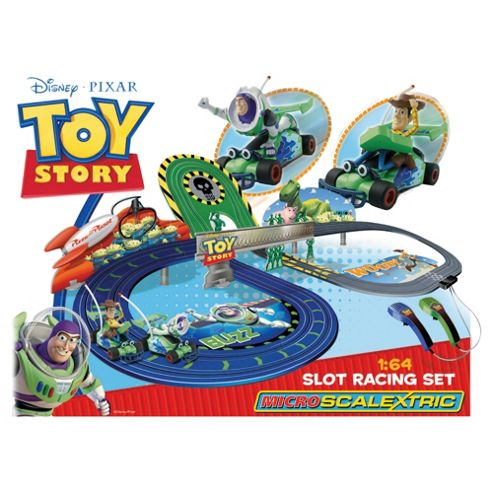 Micro Scalextric Toy Story Slot Racing Set