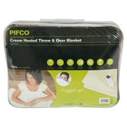 Pifco Brown Heated Throw