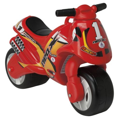 Injusa Neox Ride-On Motorbike, Red