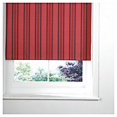 Stripe Blackout Roller Blind 90X160Cm, Red