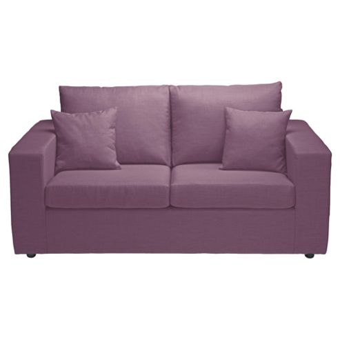 Maison Fabric Sofa Bed, Aubergine