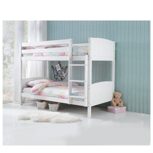 buy ashley pine detachable bunk bed white from our kids