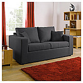 Maison Fabric Sofa Bed, Gunmetal
