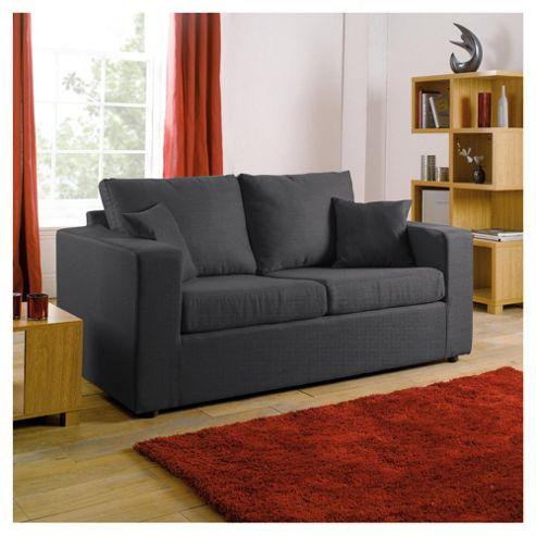 Maison Fabric Sofa Bed, Gunmetal