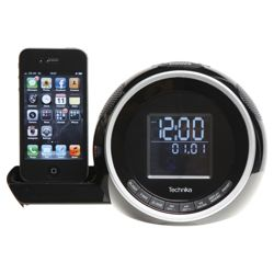 Technika CR113IPH iPhone Clock Radio (Screen size may vary)