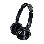 JVC HAS360B Free Style Folding Stereo Headphones Black