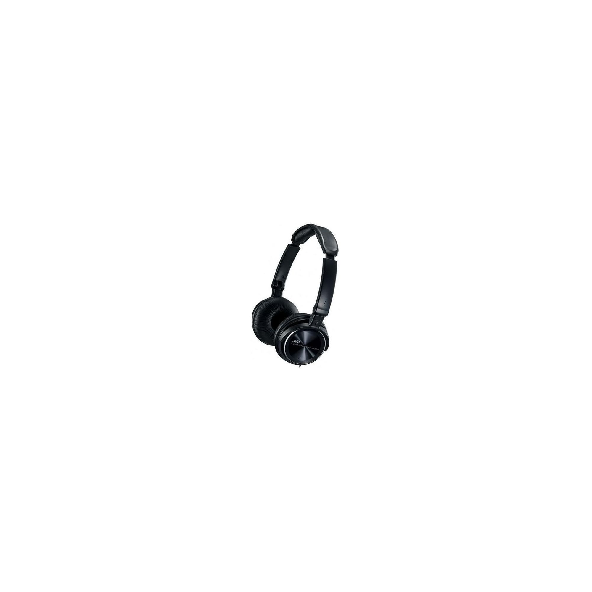 JVC Free Style Folding High Quality Headphones Black HAS360B