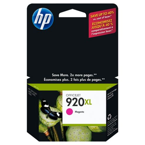 HP 920XL Printer Ink Cartridge (CD973AE) - Magenta- Duplicate