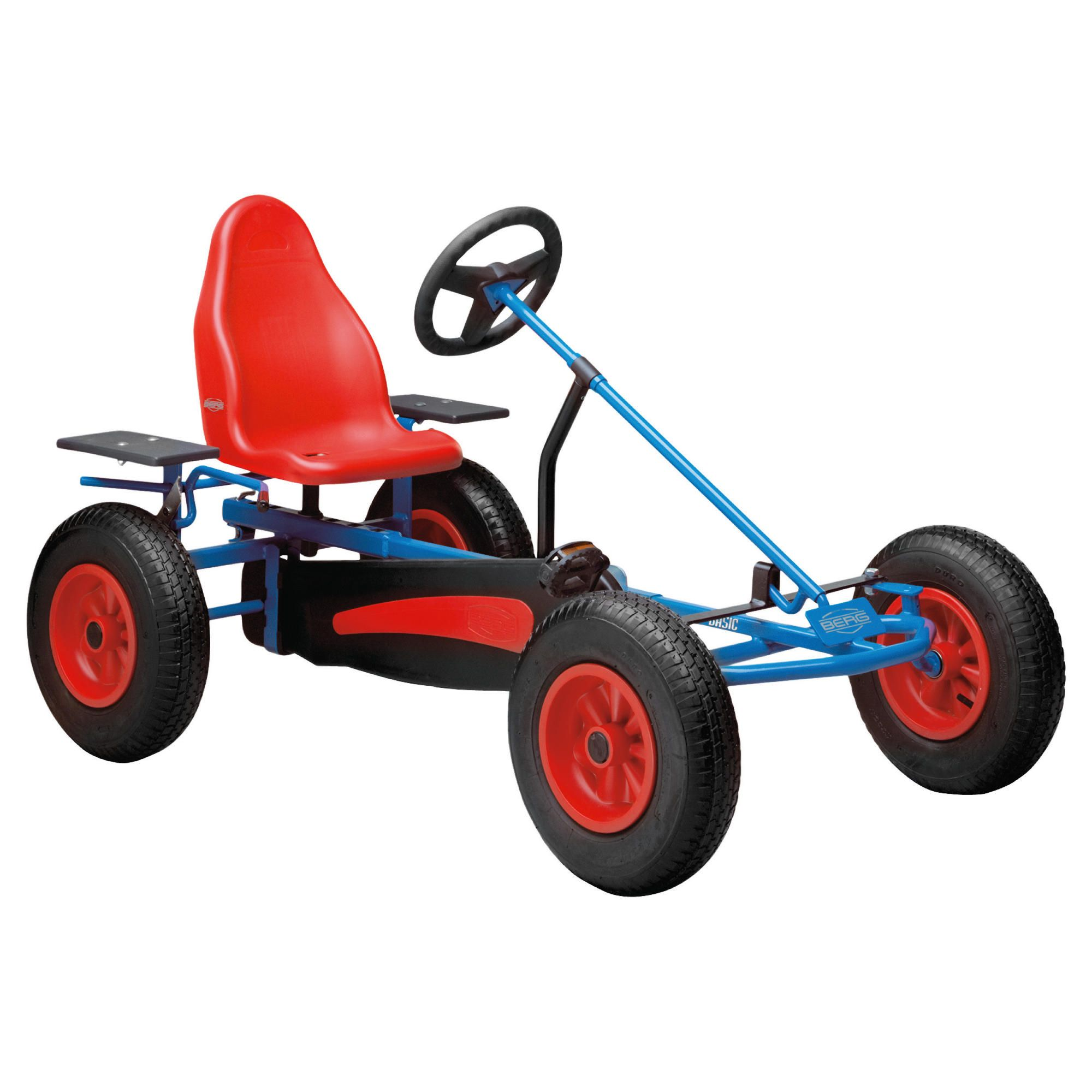 Berg Basic Af Blue Go Kart at Tesco Direct