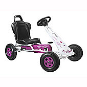 Ferbedo Tourer T-1 Ride-On Go Kart, Pink