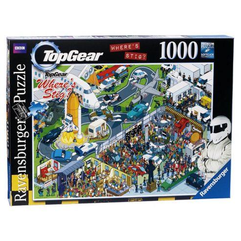 Ravensburger Wheres Stig Jigsaw Puzzle 1000 piece