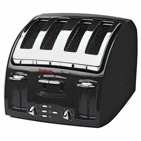 Tefal 532718 4 Slice Toaster - Black