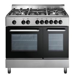 Baumatic BC392.2TCSS 90cm Stainless Steel Twin Cavity Dual Fuel Range Cooker