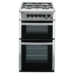Beko DG582SP Silver FSD Gas Cooker