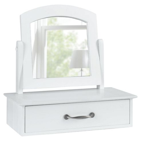 Stockholm Dressing Table Mirror, White