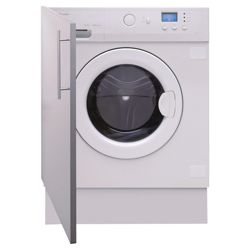 Caple WMi2001 Integrated Washing Machine, 6kg Wash Load, 1100 RPM Spin, A+ Energy Rating. White