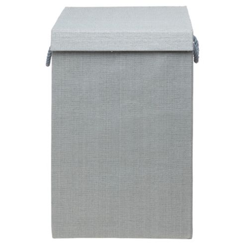 Minky Fabric Laundry Bin, Plain