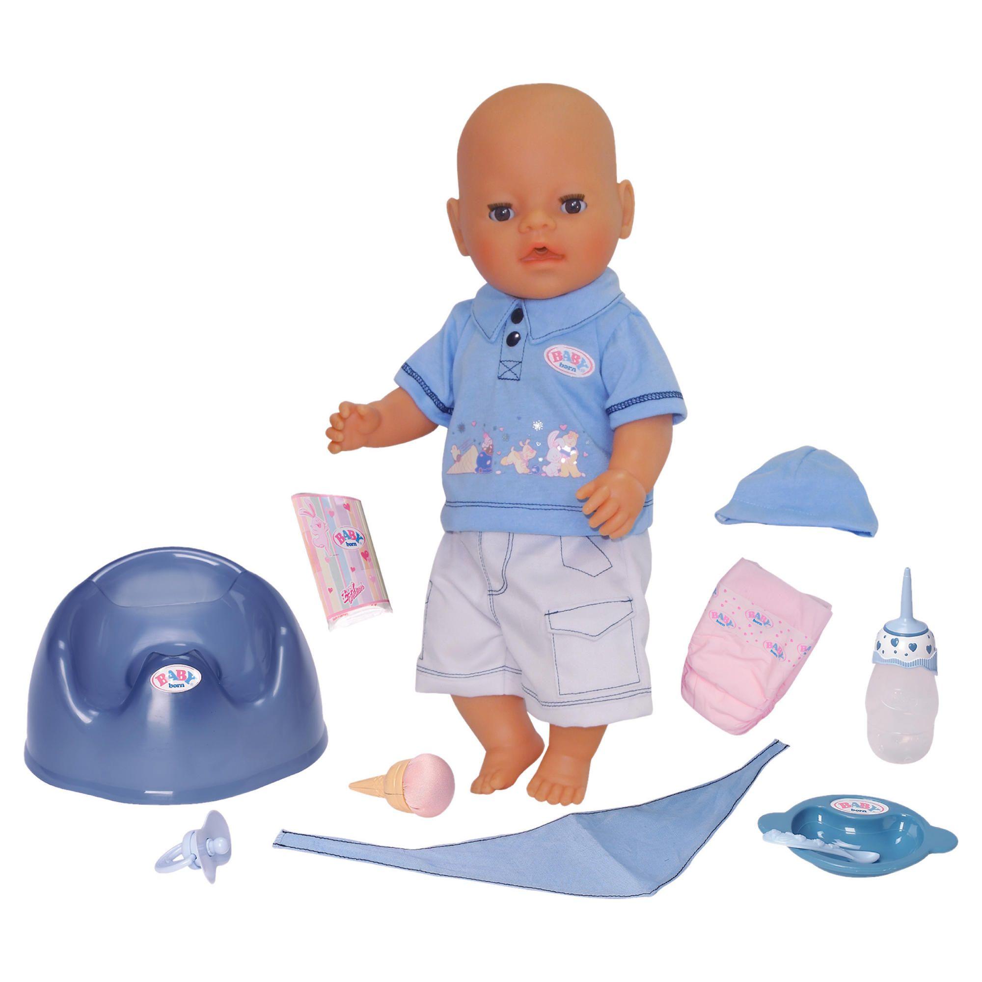 baby born feeding doll instructions