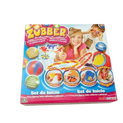 Zubber Fun Set With Bonus Refill