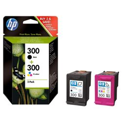 HP 300 Black & Tri-colour Combo Printer Ink Cartridge (CN637EE)