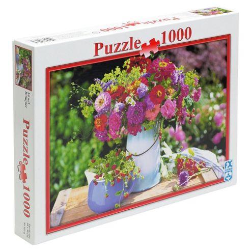 FX Schmid Floral Bouquet 1000 Piece Jigsaw Puzzle