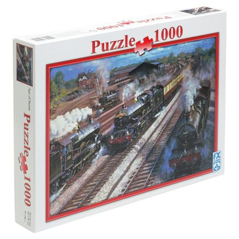FX Schmid Age Of Steam 1000 Piece Jigsaw Puzzle