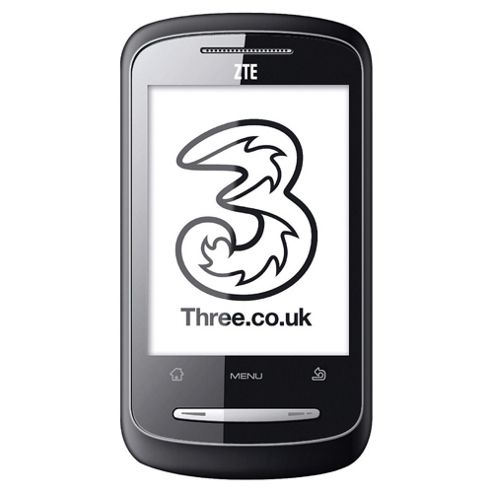 Three ZTE Racer Black