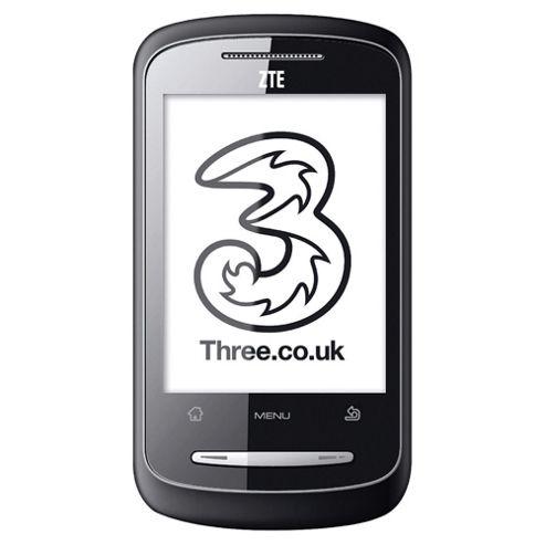 Three ZTE Racer Black